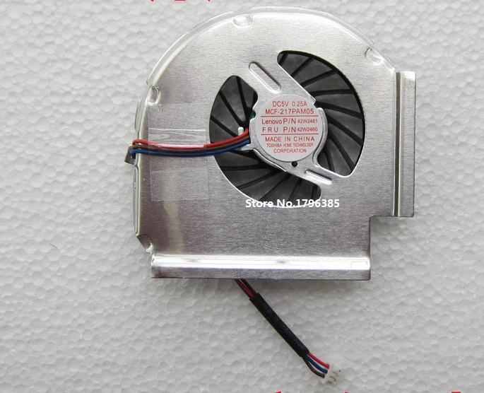 New CPU Fan 42W2460 42W2461 For IBM Lenovo Thinkpad T61