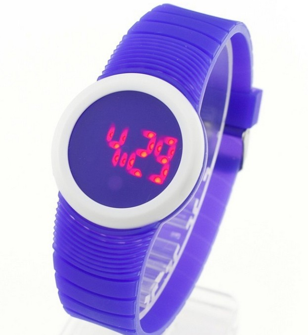 MEIBO Brand Children's Watches LED Digital Round Case Sport Fashion Life Waterproof Silicone Wrist Watch Clock Child Gift splendid brand new boys girls students time clock electronic digital lcd wrist sport watch