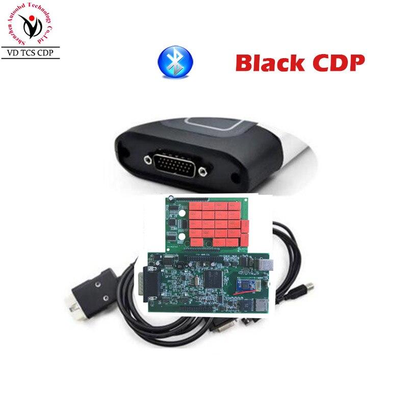 Качество + черный VD TCS CDP Pro Plus 2016. r0/2015. r3 программного обеспечения двух печатной платы V8.0 Serial. No100251 Бесплатный активировать для грузовых автом...