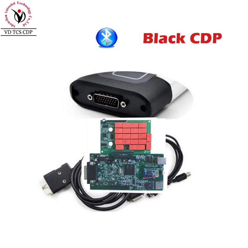 Qualité A + Noir VD TCS CDP Pro Plus 2016. R0/2015. R3 Logiciel Deux PCB Conseil V8.0 Série. No100251 Livraison Activer pour Voitures Camions
