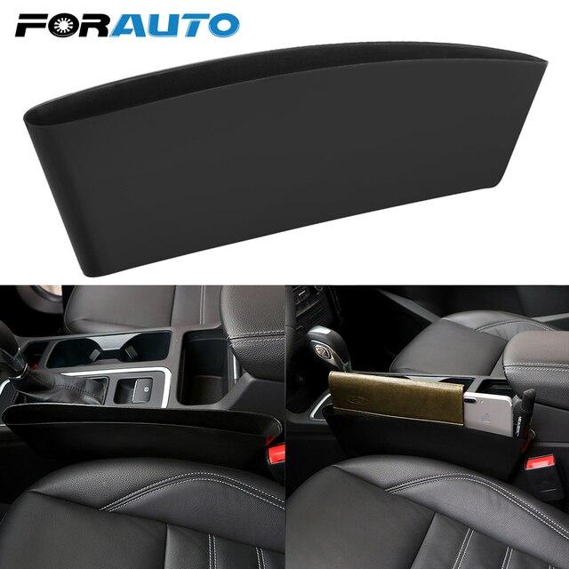 Car Seat Crevice Organizer Auto Seat Gap Storage Box Stowing Tidying Car Phone Cigarette Holder Pocket Organizer Car Accessories