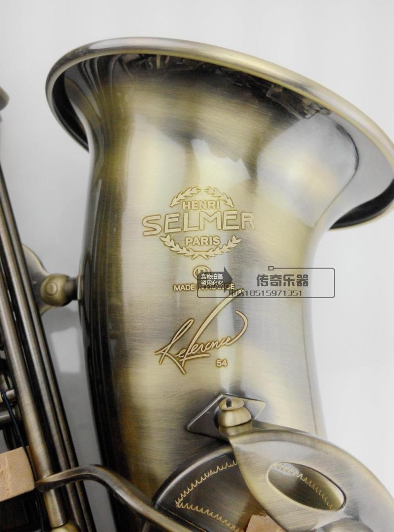 Salma 803 B Flat Tenor Saxophone Wind High Quality Shipping