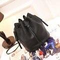 Women Messenger Bags Soft Leather Crossbody Bag For Women Famous Brand Bucket Tassel Casual Shoulder Girls String Mini Bag