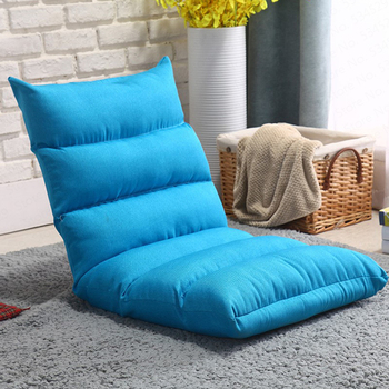 B Authentic Lazy Couch Tatami Foldable Single Small Sofa Bed Computer Back Chair Floor Sofa New