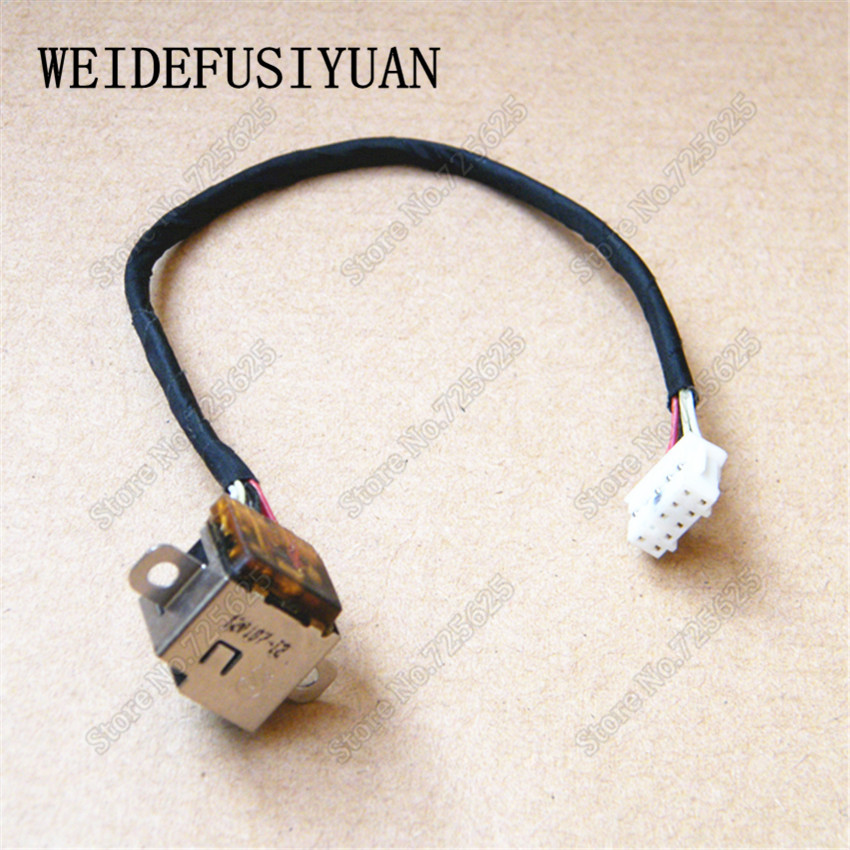 цена на New AC DC POWER JACK CABLE HARNESS SOCKET  FOR HP ENVY 17 17-1000 17T-1000 17-2280NR