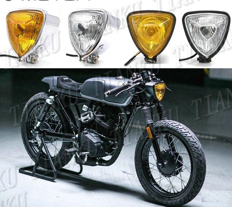 товар Retro Metal Headlights Light For Kawasaki Vulcan Classic Vn
