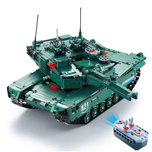 Remote Control RC Tank Building Block Brick Toy