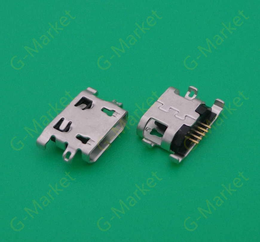 100 Pcs untuk Lenovo K6 Catatan K6Note K53a48 Mini Micro USB Port Pengisian Dock Konektor Soket Power Plug Dock