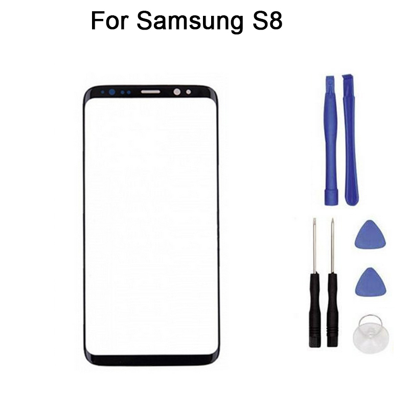 For Samsung Galaxy S8 5.8 Sm-G950F G9500 G950W  touch Screen Digitizer Front Glass Touch Panel Replacement + toolFor Samsung Galaxy S8 5.8 Sm-G950F G9500 G950W  touch Screen Digitizer Front Glass Touch Panel Replacement + tool