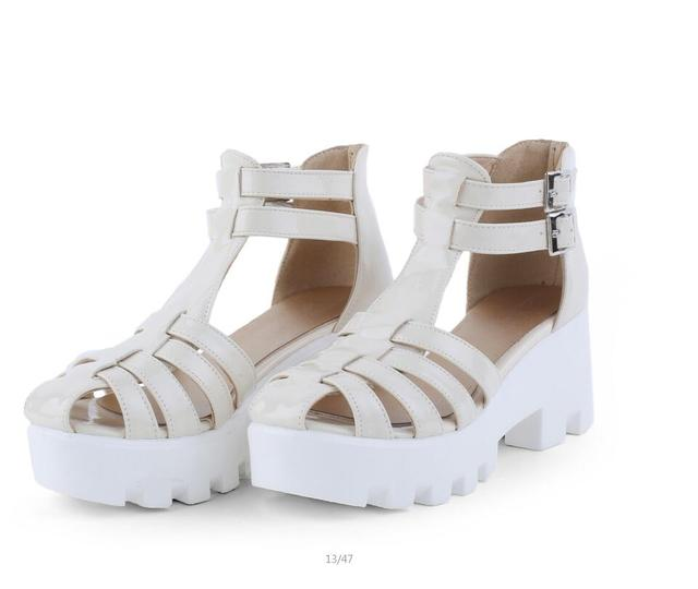 4dab2aade Hot Selling 2017 New Summer Fashion High Platform Sandals Women Casual  Ladies Shoes China Black White Size EUR 34 to 43