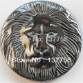 Min. Order is 10 USD (mixed order) Exquisite Carved Hematite Lion's head CAB CABOCHON R0023291
