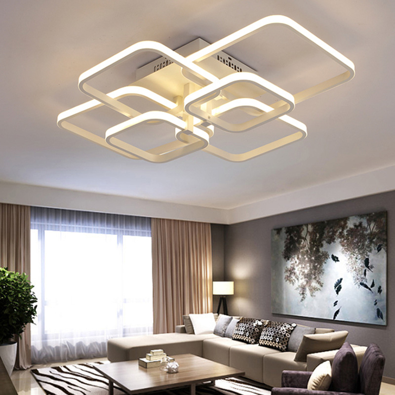 Back To Search Resultslights & Lighting Cooperative Led Ceiling Light Modern Lamp Living Room Lighting Fixture Bedroom Kitchen Surface Mount Flush Panel Remote Control