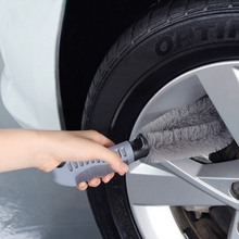 Car Wheel Sponge Brush Rim Wash Cleaning Tire Hub Tool Kit For Auto Motorcycle
