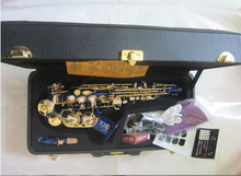 BB Soprano Saxophone curve normal distribution of curved flat B created a musical instrument Saxophone for