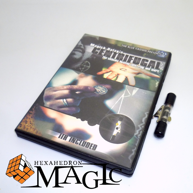 Centrifugal with ITR including by Magick Balay and The Blue Crown close-up street stage floating magic tricks products toys close-up