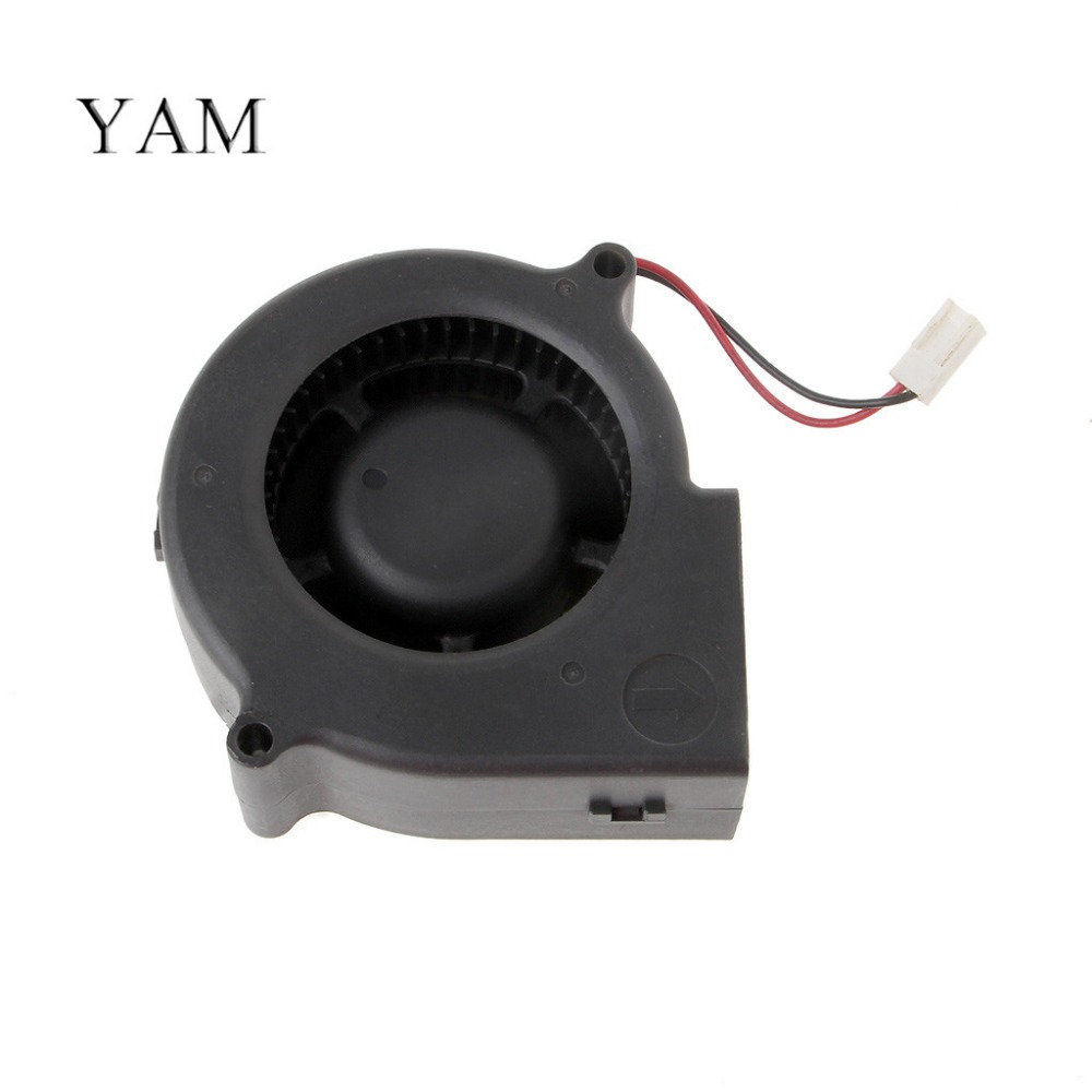 YAM BFB0712H 7530 DC 12V 0.36A Ball Bearing Projector Blower Centrifugal Cooling Fan original delta afb0912shf 9032 9cm 12v 0 90a dual ball bearing cooling fan page 1