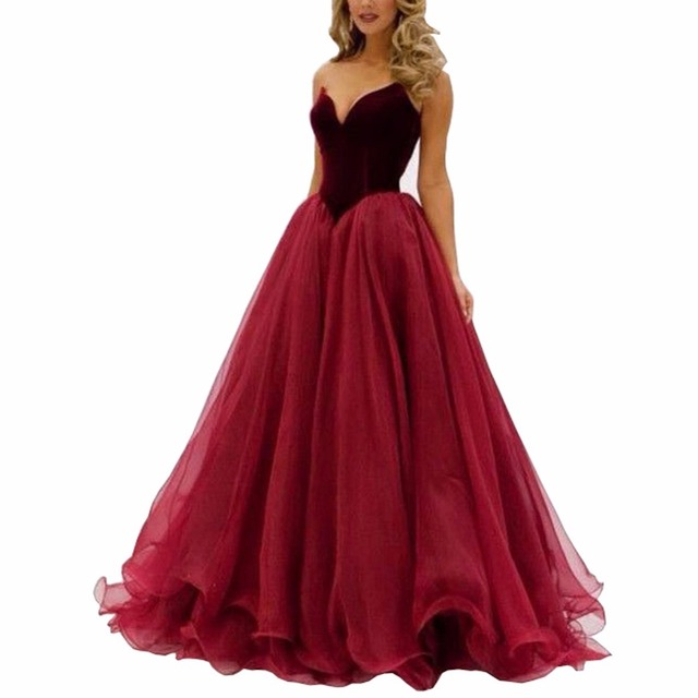 Sweetheart Evening Dresses