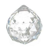 CNIM Hot 10pcs Crystal Glass Lamp Chandelier Prisms Party Decor Hanging Drop Pendant 40mm