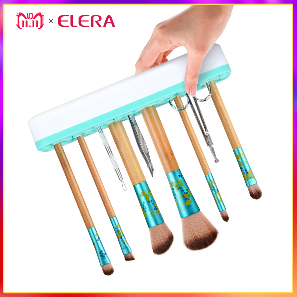 Magic Silicone Makeup Brushes Holder Portable Make Up Brush Holder Box Makeup Tools Storage Cosmetic Brush Box 3 Colors cotton bull and letters print round neck short sleeve t shirt