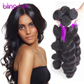 7A Maxglam Hair Brazilian Loose Wave Virgin Hair 4 Bundles loose Wave Rosa Hair Products Brazilian Virgin Afro Vip Beauty hair