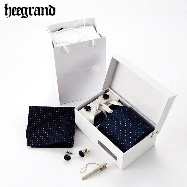 HEE GRAN 8.5 CM Hombres Lazos Novedad Moda Formal Impreso Corbatas Corbata Set de Regalo del Hombre Ocasional PLD052