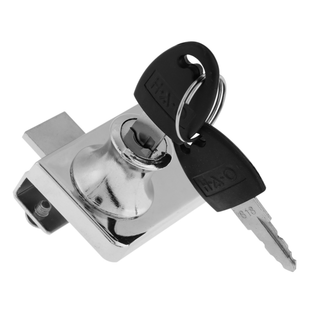 Home Drawer Lock Zinc Alloy Single Door Drawer Lock keep Safty and Security with Keys Office Security Drawer Lock