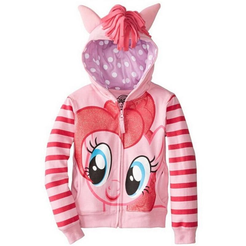 Girls Sweatshirts Hoodies Children Clothing Autumn And Winter Baby girl Thick Cotton Tops Kids Cute Cartoon Rabbit Hooded Coat 15