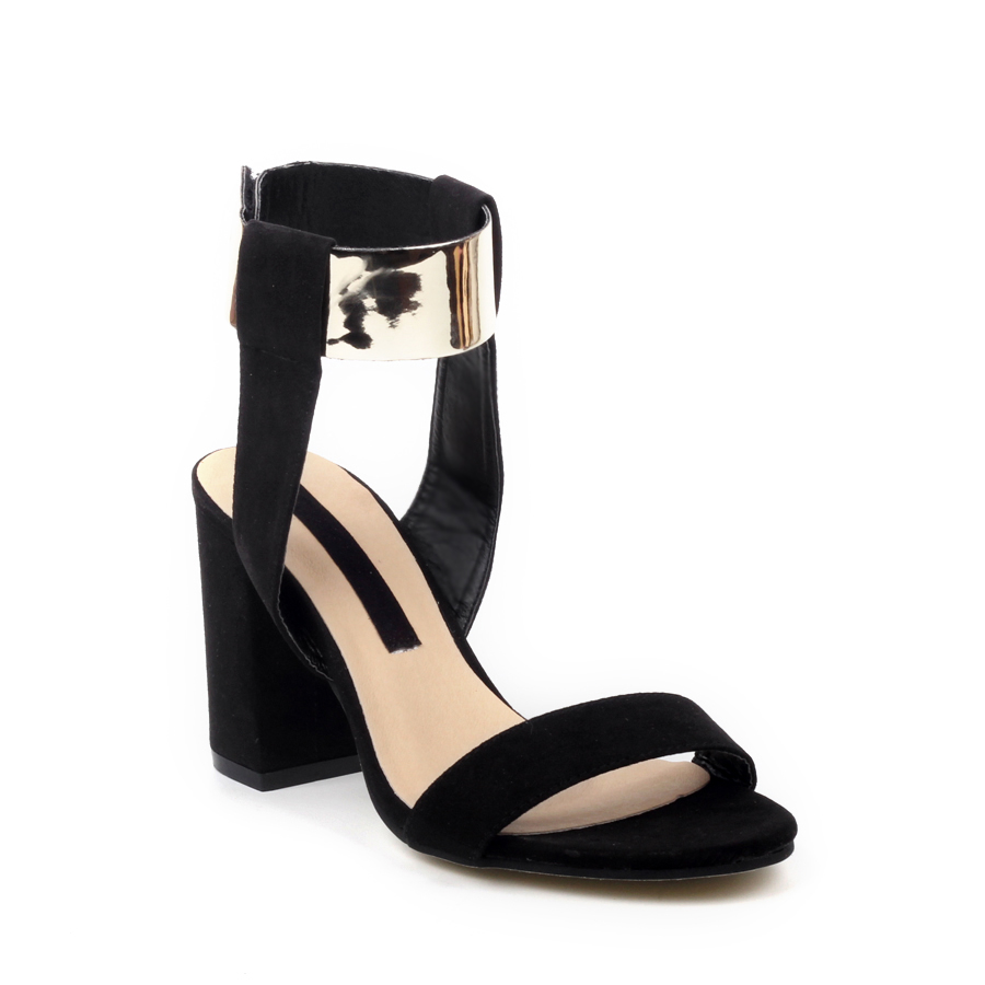 New Summer Style Women's T-stage Sexy High Heels Peep Toe Metal Ladies Celebrity Sandals Pumps Platform Shoes Black oras solina 1994y