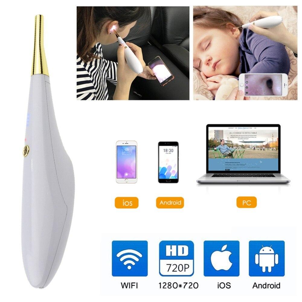 Portable médical Diagnostic lumière Otoscope loupe stylo oreille nez gorge soin clinique lumière protéger outil ensemble oreille nettoyant - 3