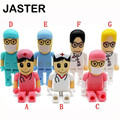 Hot Doctors memory stick nurses pendrive cartoon usb flash drive pen drive 8gb pendrives  4G 16G flash card u disk cute gift