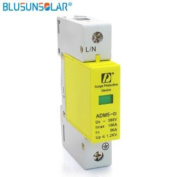 20 pieces / lot AC SPD 1P 5KA 10KA 385V House Low-voltage Lightning Arrester Surge Protection Device