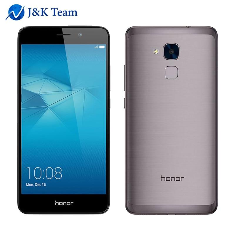Original Huawei Honor 5C 2+16GB 13MP Dual Rear Camera C4G FDD LTE phone Octa core 5.5 inch 1920*1080pix FingerPrint Metal Body
