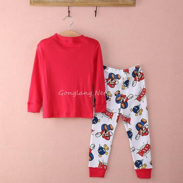 Cartoon Kids Nightwear Pajamas  2
