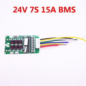 Image 5 - LiitoKala 7S 24V 15A BMS 24v lithium battery BMS for electric bike 24V 8Ah 10Ah 12Ah li ion battery With balance function