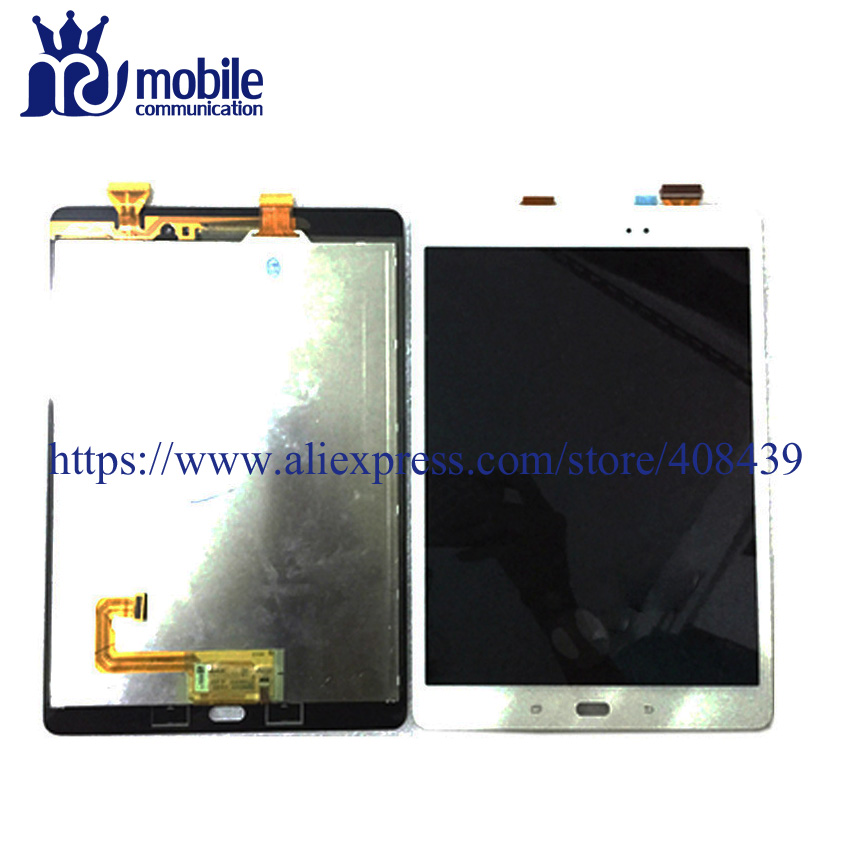 New P550 LCD Touch Screen For Samsung Galaxy Tab A 9.7 SM-P550 P550 Display Sensor Glass Touch Panel Digitizer Assembly lcd display touch screen digitizer assembly replacements for samsung galaxy tab e t560 sm t560nu 9 6 free shipping