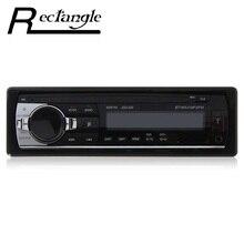 Универсальный 1 одноместный Дин MP3 Радио игрок стерео аудио-Dash FM приемник 12 В с Bluetooth 2.0 AUX Вход USB SD MMC