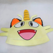 Top Anime Pokemon Meowth Logo Cotton Hat Winter Warmer Beanie Cap Costume Ball Cosplay Gift New Arrival