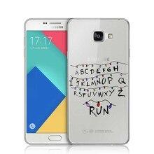 Stranger Things Christmas Light Plastic Cover for Samsung