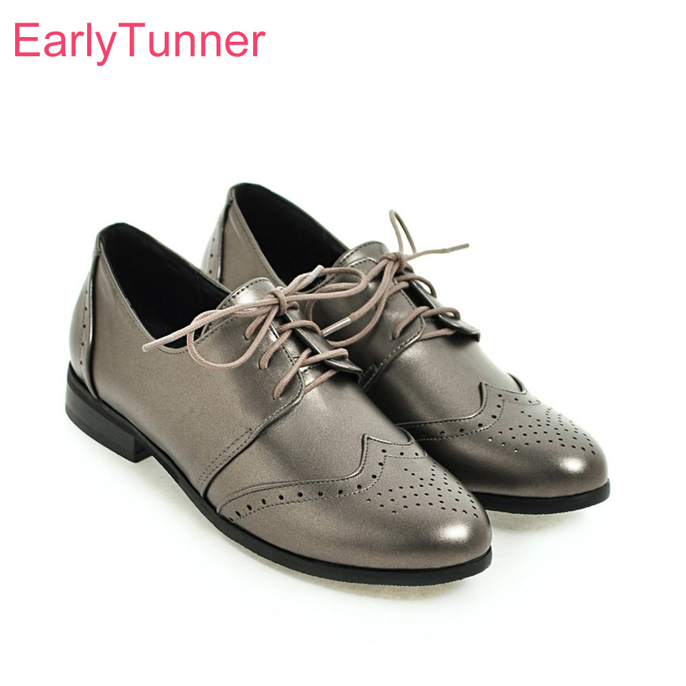 Brand New Elegant Silver Beige Women Nude Pumps Comfortable Low Heel Lady Office Shoes EH57 Plus Big Small Size 10 30 43 50