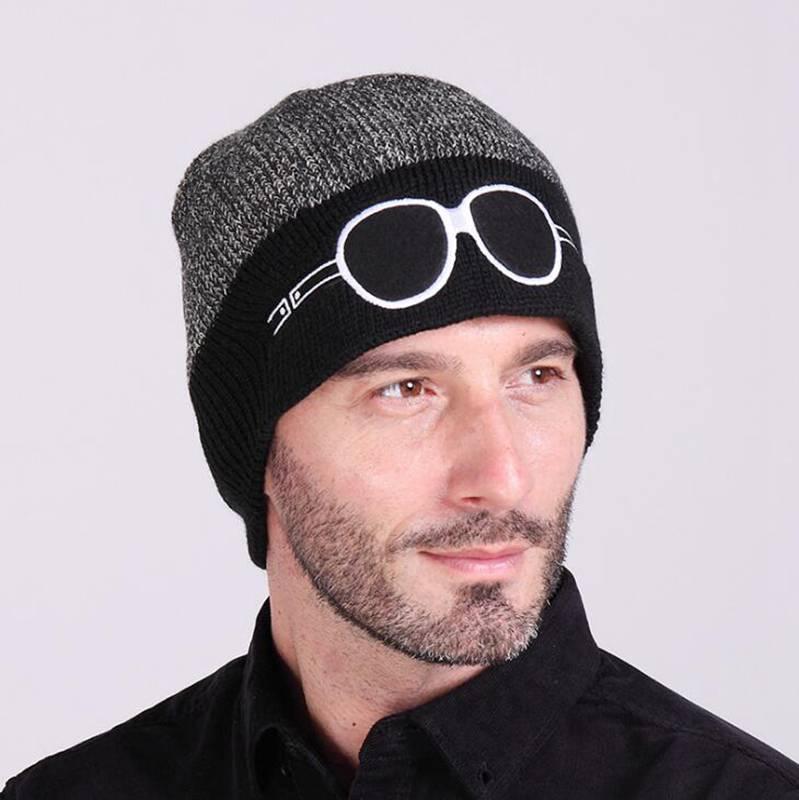 #0715 2016 Gorras hombre Winter hats for men Bone masculino Fashion Korean Bone Beanies men Bonnet Casquette homme Dad hats