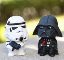 8cm Star Wars Figure Action The Force Awakens Black Series Darth Vader Stormtrooper Model Toy For Kid's Gift