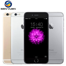 Unlocked Apple iPhone 6 1GB RAM 16/64/128GB ROM IOS Dual Core 8MP/Pixel Used 4G LTE Mobile Cell Phone(China)