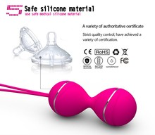 Smart Geisha Ben wa ball Vaginal Tight Exerciser Sex shop Toy For women,sex product for female Kegel Balls Remote vibrator egg,