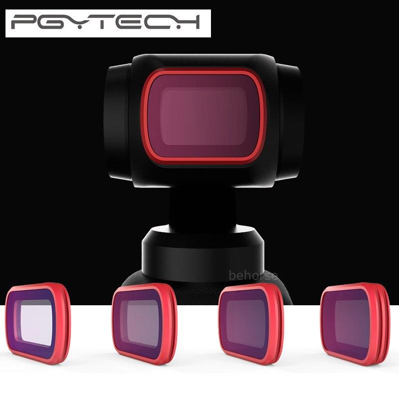 PGYTECH фильтры Комплект CPL ND8/16/32/64 PL постепенное версия Professional фильтр для DJI Осмо карман Камера Gimbal аксессуары