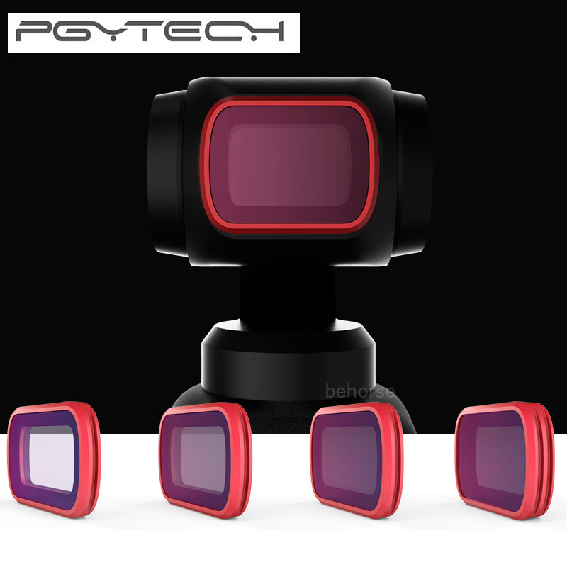 PGYTECH Filtres Kit Ensemble CPL ND8/16/32/64 PL Progressive Version Professionnel Filtre Pour DJI OSMO poche Caméra Cardan Accessoires