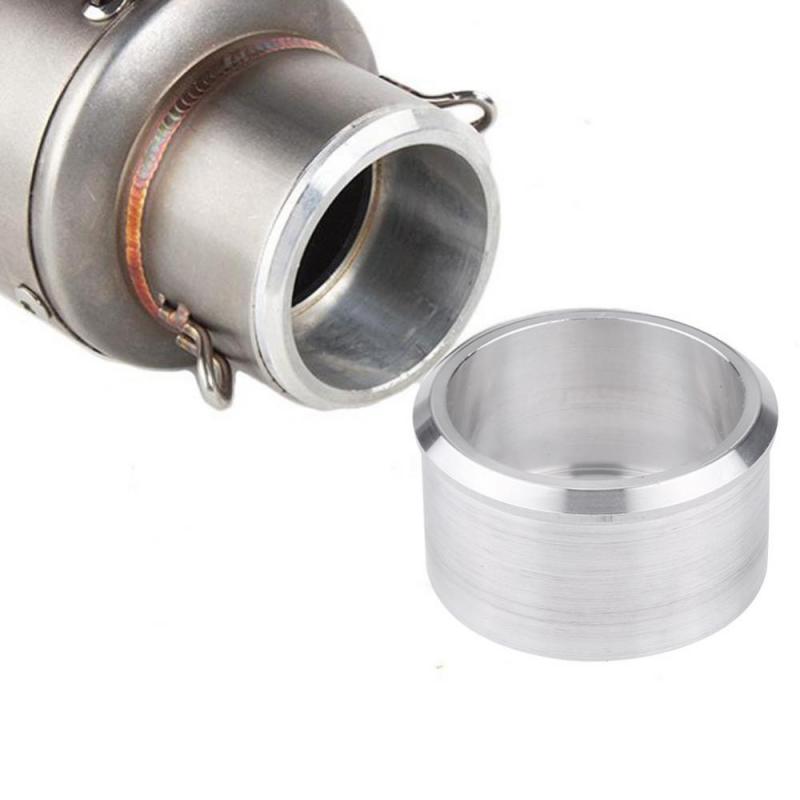 VGEBY Universalus aliuminio motokroso motociklų išmetimo vamzdžių adapteris 60 mm 51 mm reduktorius