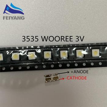 1000 шт. для WOOREE светодиодная подсветка LCD TV bead 3 V 1 W 3535 LED SMD Lamp bead 3535 cold white WM35E1F-YR07-eB