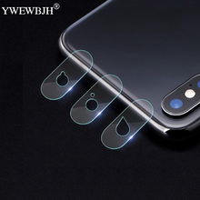 YWEWBJH Camera Lens Protective Protector For iPhone XS Max XR X 8 7 6 6S Plus Tempered Glass Film