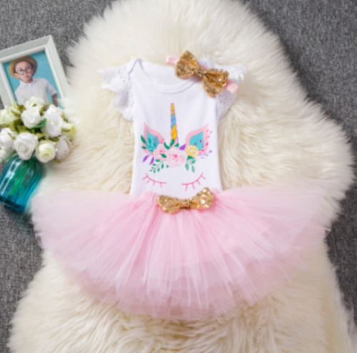 kaiCran Newborn Toddler Baby Girls Tutu Dress Long Sleeve Lace Princess Dresses Sweet Fall Clothes 2-6 Years