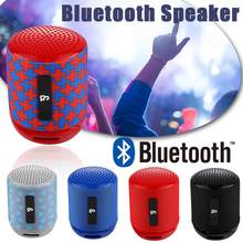 TG129 Bluetooth Speaker Wireless Bass Call Outdoor Portable Card Fashion Gift Mini Speaker Stereo Built-in Mic Speaker(China)